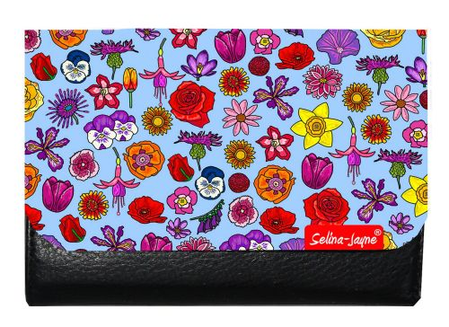 Selina-Jayne English Flowers Limited Edition Designer Small Purse